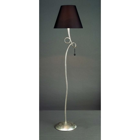 LAMPARA DE PIE DE SALON CON 1 LUZ