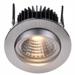 LUCIPLEX TK1608830A FOCO EN ACABADO ALUMINIO CEPILLADO LED 8W