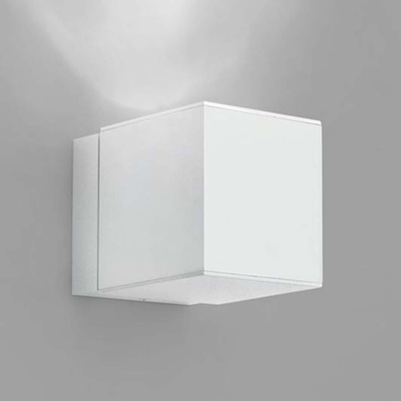 Aplique de pared de 1 luz en aluminio blanco aplique 1 luz - Apliques de pared philips ...