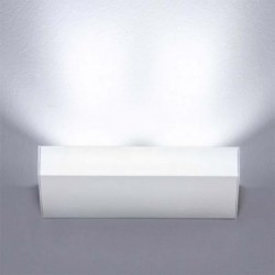 MILAN 4390 APLIQUE DE PARED NEVA EN ALUMINIO DE 2 LED 10W 2700K 1010Lm REGULABLE