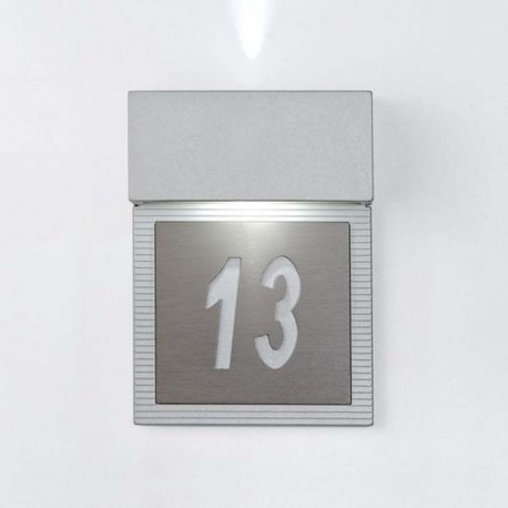 APLIQ.GRIS  MINUSVAL.LED 2x4W