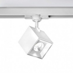 FOCO CARRIL LED 1x10W.ALUM.AND