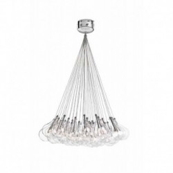 DROP LED COLGANTE 37 TULIPAS 3.50MT.1.5W-110lm