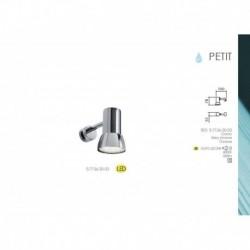 MDC 5-7136-30-03 APLIQUE DE PARED PETIT EN ACABADO CROMO GU10 LED 6W 500lm 4000K