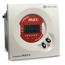 REGULADOR AUTOMATICO ENERGIA REACTIVA COMPUTER MAX 6 400V