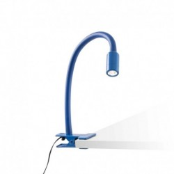 PINZA DE COLOR AZUL LED 3W 3000K