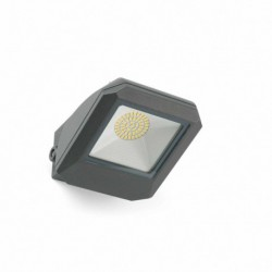 ARAN LED Lámpara proyector gris oscuro