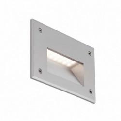 STORE LED Lámpara empotrable gris luz cálida