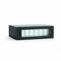 INDI-1 LED Lámpara empotrable gris oscuro
