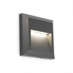 GRANT-C Lámpara aplique gris oscuro