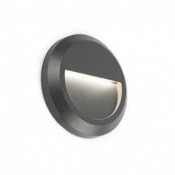 GRANT-R Lámpara aplique gris oscuro