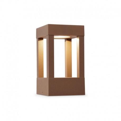 AGRA LED Lámpara baliza marrón óxido luz cálida h.200mm