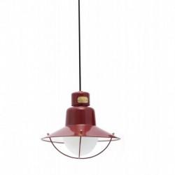 NEWPORT Lámpara colgante rojo