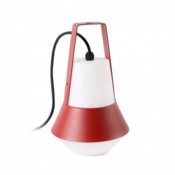 CAT Lámpara portátil roja