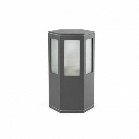 LONG Lámpara baliza gris oscuro h 20cm