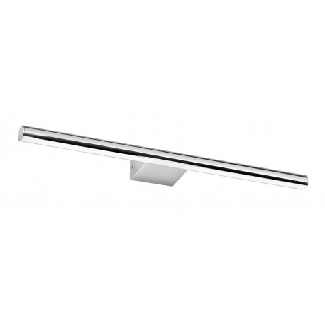 Aplique Pared Baño | Aplique Caprice 600mm Led 20w 4000k Cromo Ip44 Iluminacionclick