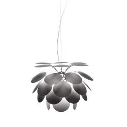 LAMPARA COLGANTE EN COLOR GRIS MATE  E27 23W FBA DISCOCO 53