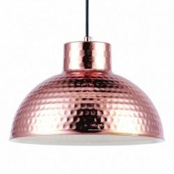 LAMPARA COLGANTE EN ACABADO COBRE  E27