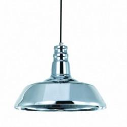 LAMPARA COLGANTE EN ACABADO CROMO  E27/