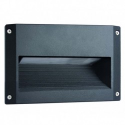 EMPOTRABLE DE PARED DE COLOR NEGRO G24d3 IP65