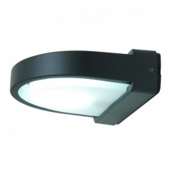 APLIQUE DE PARED DE ACABADO ANTRACITA  E27 LED 10W IP54
