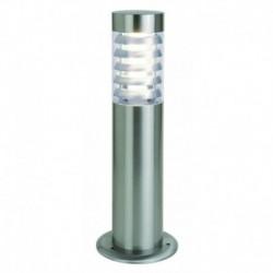 BALIZA PARA EXTERIORES EN ACERO INOXIDABLE  E27 LED 10W IP44