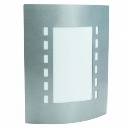 APLIQUE DE PARED EN ACERO INOXIDABLE E27 LED 10W IP44