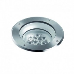 EMPOTRABLE DE SUELO EN ACERO INOXIDABLE IP67 LED 9x1W