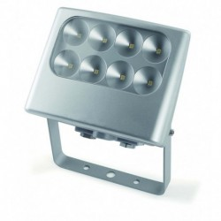 PIQUETA DE JARDIN EN COLOR GRIS IP5 led 4 8x3w