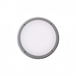 APLIQUE DE PARED EN ACABADO GRIS IP65 LED 13,5W 1150lm 4000K