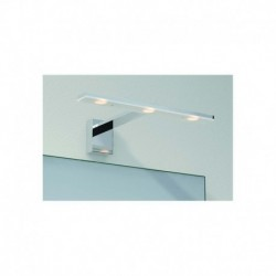 APLIQUE DE PARED EN ACABADO CROMADO IP44 LED 3*3W 720lm 3000K