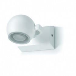 Aplique baño MOON LED 1x5W cromo-cristal