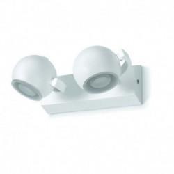 Aplique baño MOON LED 2x5W cromo-cristal