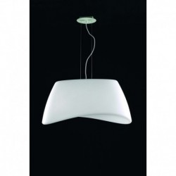 LAMPARA COLGANTE DE  2 LUCES IP44