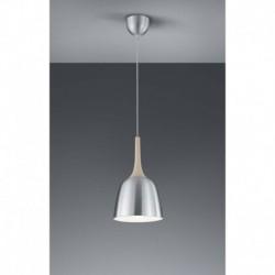 Colgante KANNAN E27 Aluminio pulido