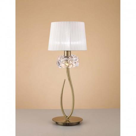 LAMPARA DE SOBREMESA DE 1 LUZ  GRANDE