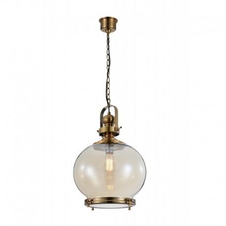 LAMPARA COLGANTE CIRCULAR DE 1 LUZ TAMAÑO MEDIANO