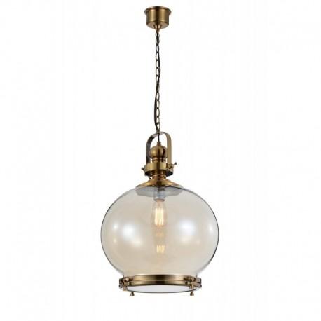 LAMPARA COLGANTE CIRCULAR DE 1 LUZ TAMAÑO GRANDE